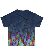 Feather allover All-over T-Shirt back