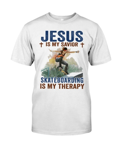 girl skateboarding jesus therapy