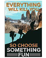 Trekking choose something fun 11x17 Poster front