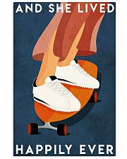 skateboarding she happily ever 16x24 Poster front