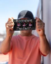 Flamingo Friends Hockey Gang mas Cloth Face Mask - 3 Pack aos-face-mask-lifestyle-05