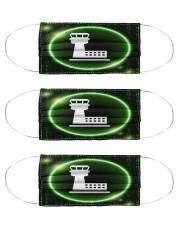 air traffic controler mas Cloth Face Mask - 3 Pack front