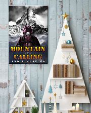 skiing the mountain is calling and i must go 11x17 Poster lifestyle-holiday-poster-2
