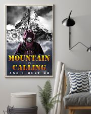 skiing the mountain is calling and i must go 11x17 Poster lifestyle-poster-1