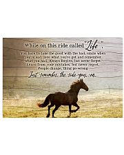 Ride called life 17x11 Poster front