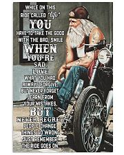 harley old man ride go on pt lqt nna 11x17 Poster front