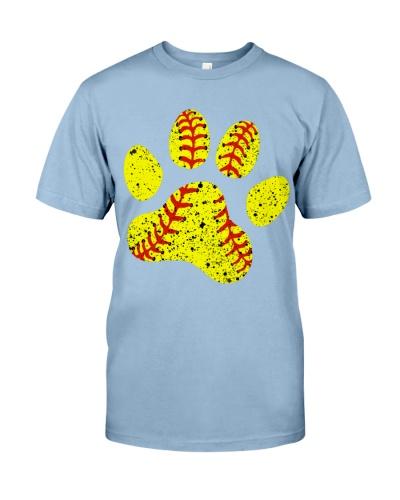 Softball dog lovers