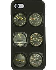 vintage 6 pack flight instrument pc mttn-pml Phone Case i-phone-8-case