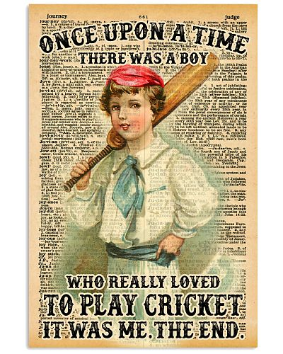 Cricket Boy Once Upon A Time
