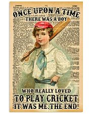 Cricket Boy Once Upon A Time 11x17 Poster front