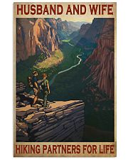 hiking partners for life rock 11x17 Poster front
