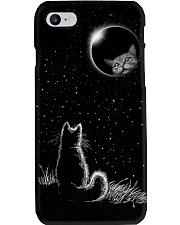The cat and the moon pc nct ngt Phone Case i-phone-8-case