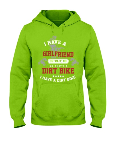 dirt bike male have a girlfriend
