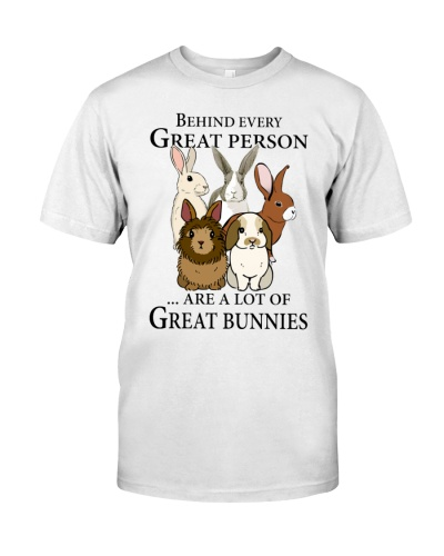 bunnies Behind every great person