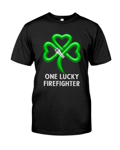 one lucky firefighter