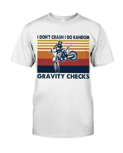motocross dirt bike gravity check