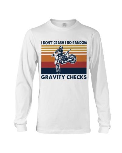 motocross dirt bike gravity check