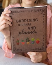 gardening notebook phq ngt Large - Leather Notebook aos-large-leather-notebook-lifestyle-front-08