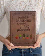 gardening notebook phq ngt Large - Leather Notebook aos-large-leather-notebook-lifestyle-front-11