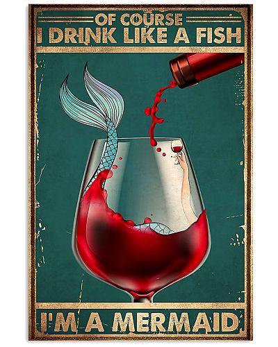 wine im a mermaid