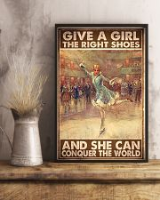 ice skate give a girl the right shoes pt mttn ngt 11x17 Poster lifestyle-poster-3