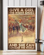 ice skate give a girl the right shoes pt mttn ngt 11x17 Poster lifestyle-poster-4