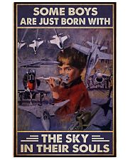 Jet aircraft boys born sky in souls pt mttn NTH 11x17 Poster front