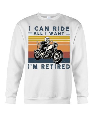 Retired Biker Retro