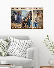 Horse lover girl its not a phase pt dvhh pml 24x16 Poster poster-landscape-24x16-lifestyle-01