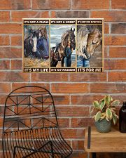 Horse lover girl its not a phase pt dvhh pml 24x16 Poster poster-landscape-24x16-lifestyle-24