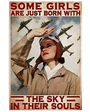 soldiers girls sky in souls pt mttn pml 11x17 Poster front