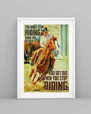 girl horse riding dont get old poster 16x24 Poster lifestyle-poster-5