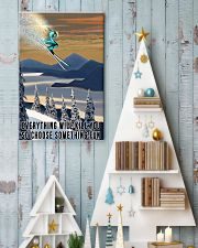 Skiing choose something fun colorful poster 11x17 Poster lifestyle-holiday-poster-2