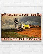 motocross Corner Happiness pt lqt dqh 24x16 Poster poster-landscape-24x16-lifestyle-18