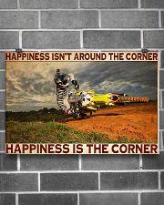 motocross Corner Happiness pt lqt dqh 24x16 Poster poster-landscape-24x16-lifestyle-19
