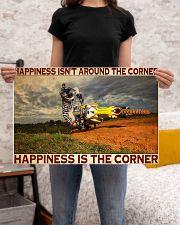 motocross Corner Happiness pt lqt dqh 24x16 Poster poster-landscape-24x16-lifestyle-20