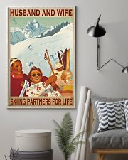 skiing partners for life poster 11x17 Poster lifestyle-poster-1