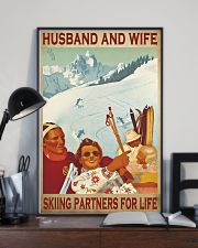 skiing partners for life poster 11x17 Poster lifestyle-poster-2