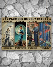 plumber hourly rate pt lqt ngt 17x11 Poster aos-poster-landscape-17x11-lifestyle-13
