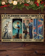 plumber hourly rate pt lqt ngt 17x11 Poster aos-poster-landscape-17x11-lifestyle-27