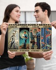 plumber hourly rate pt lqt ngt 17x11 Poster poster-landscape-17x11-lifestyle-20