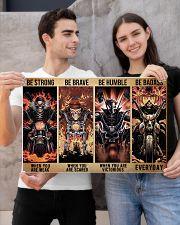 skeleton biker be strong brave humble pt mttn dqh 24x16 Poster poster-landscape-24x16-lifestyle-21