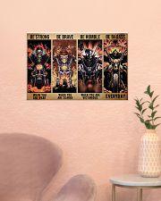 skeleton biker be strong brave humble pt mttn dqh 24x16 Poster poster-landscape-24x16-lifestyle-23
