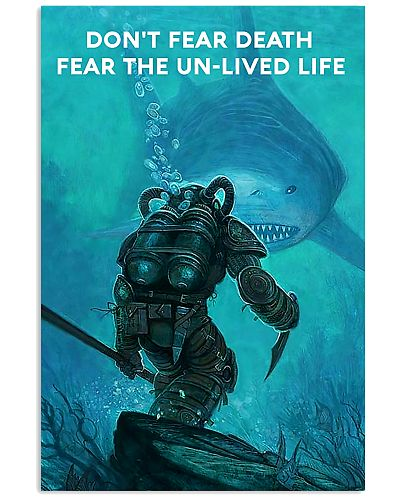 scuba diving fear the unlived life