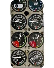 Airplane Cockpit Instrument pc mttn ntv Phone Case i-phone-8-case