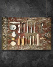 pottery tools pt phq ngt 17x11 Poster aos-poster-landscape-17x11-lifestyle-12
