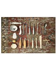 pottery tools pt phq ngt 17x11 Poster front