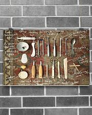 pottery tools pt phq ngt 17x11 Poster poster-landscape-17x11-lifestyle-18