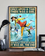 ice skating girl once upon a time poster 11x17 Poster lifestyle-poster-2