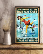 ice skating girl once upon a time poster 11x17 Poster lifestyle-poster-3